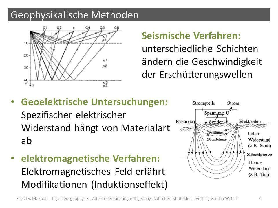 Geophysikalische Methoden