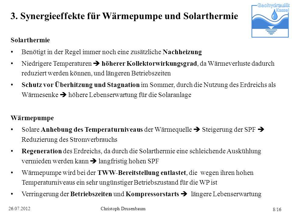 3. Synergieeffekte für Wärmepumpe und Solarthermie
