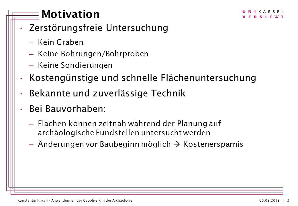 Motivation Zerstörungsfreie Untersuchung