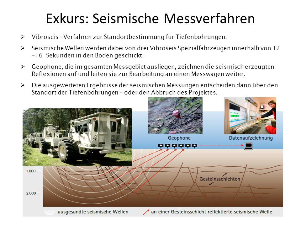 Exkurs: Seismische Messverfahren