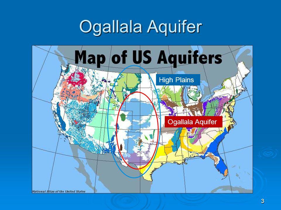 Ogallala Aquifer High Plains Ogallala Aquifer
