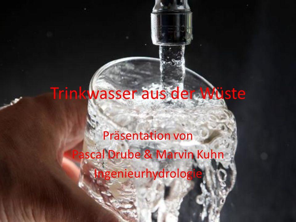 Trinkwasser aus der Wüste