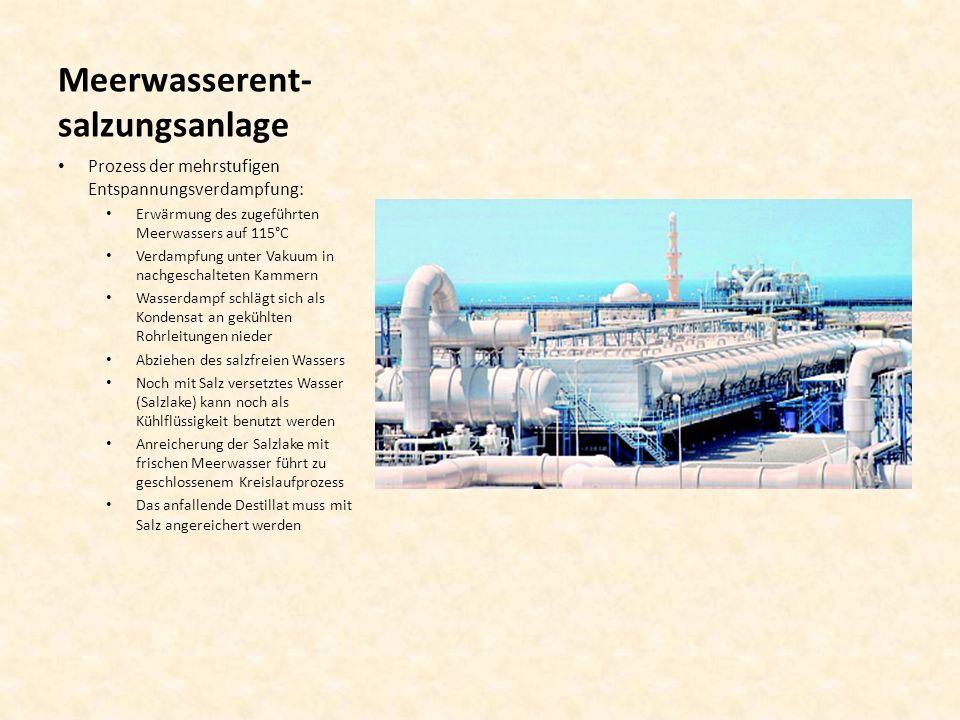 Meerwasserent-salzungsanlage