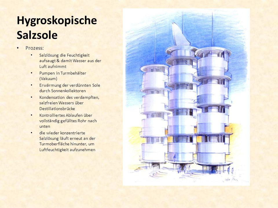 Hygroskopische Salzsole