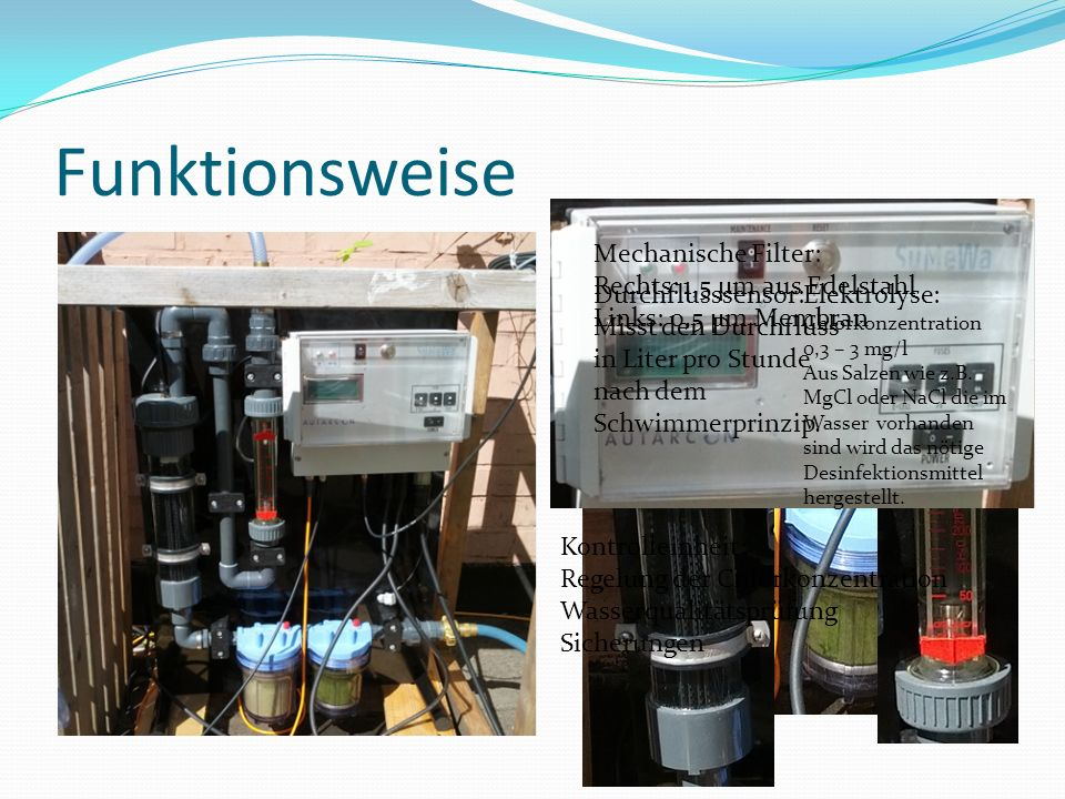Funktionsweise Mechanische Filter: