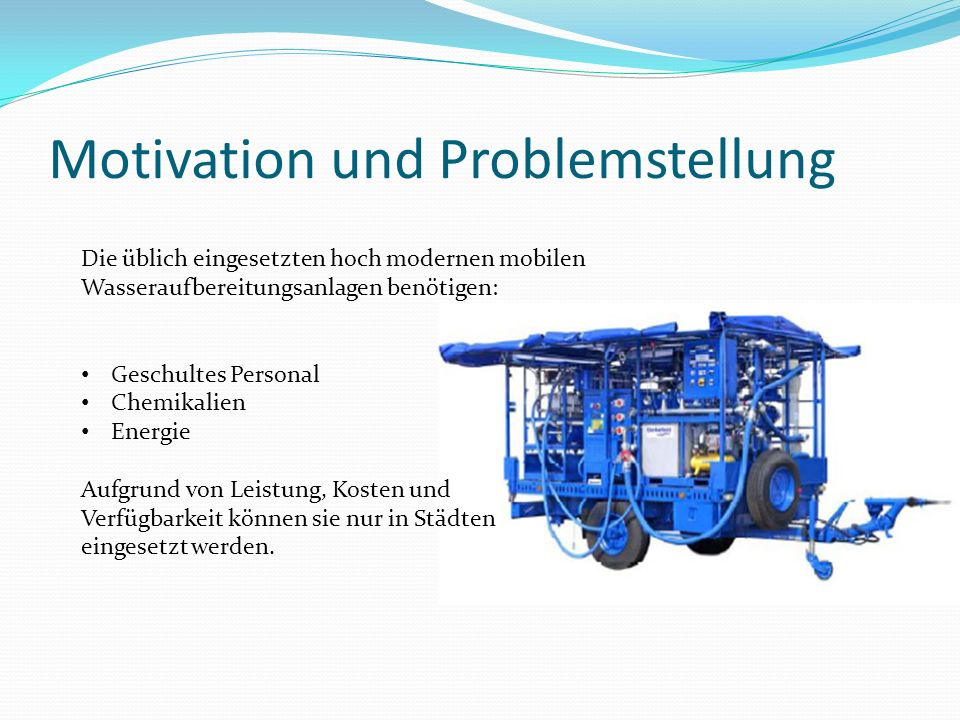 Motivation und Problemstellung