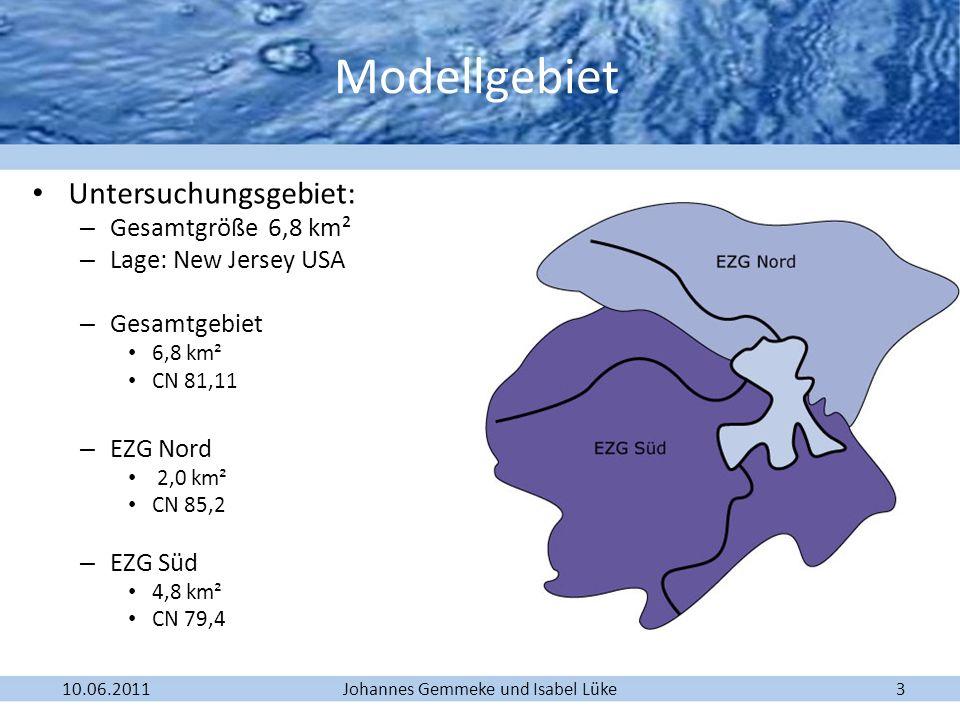 Modellgebiet Untersuchungsgebiet: Gesamtgröße 6,8 km²