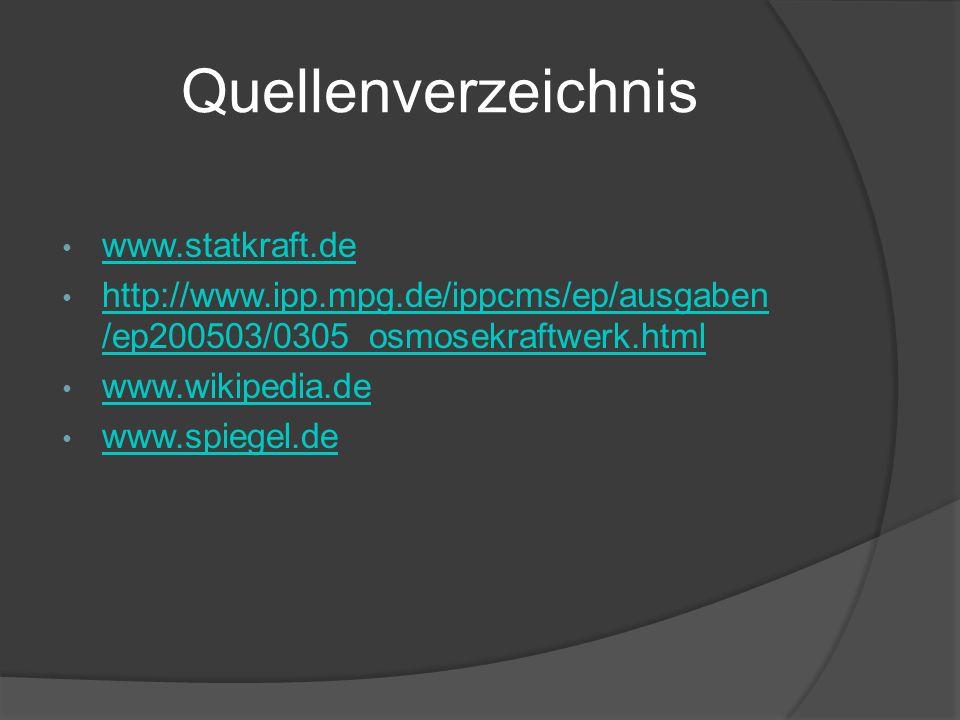 Quellenverzeichnis www.statkraft.de