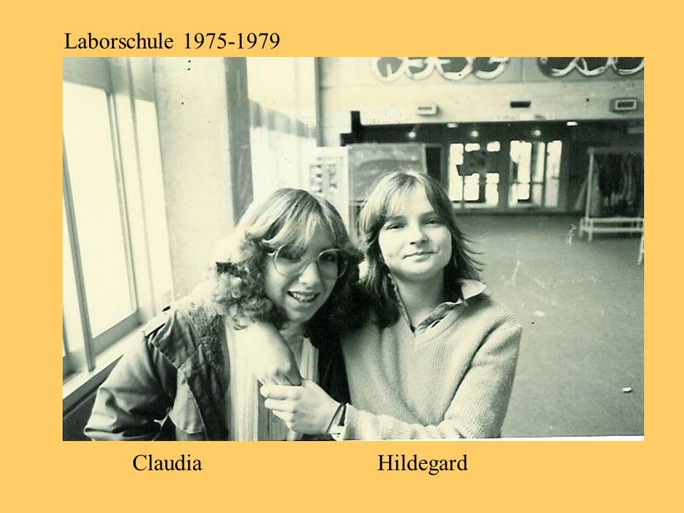 Laborschule 1975-1979 Claudia Hildegard