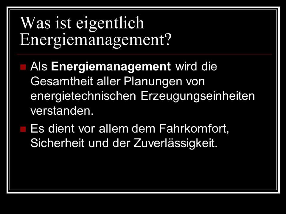 Was ist eigentlich Energiemanagement