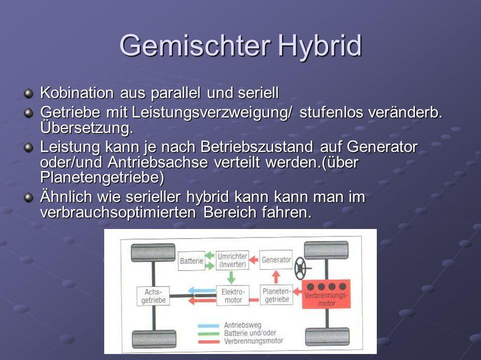 Gemischter Hybrid Kobination aus parallel und seriell