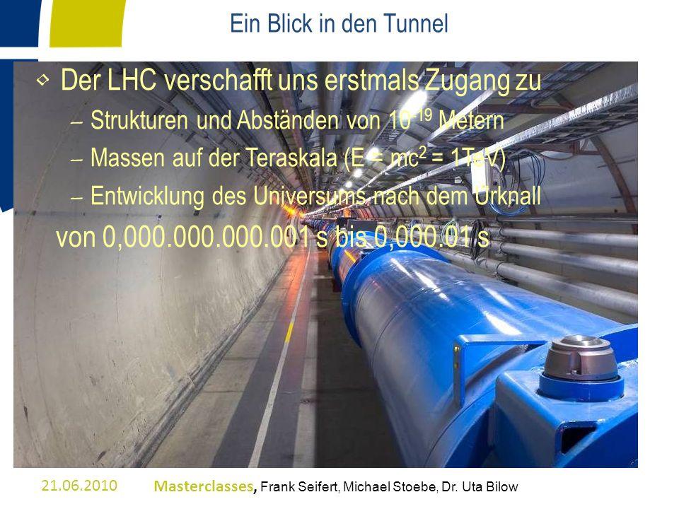 Der LHC verschafft uns erstmals Zugang zu