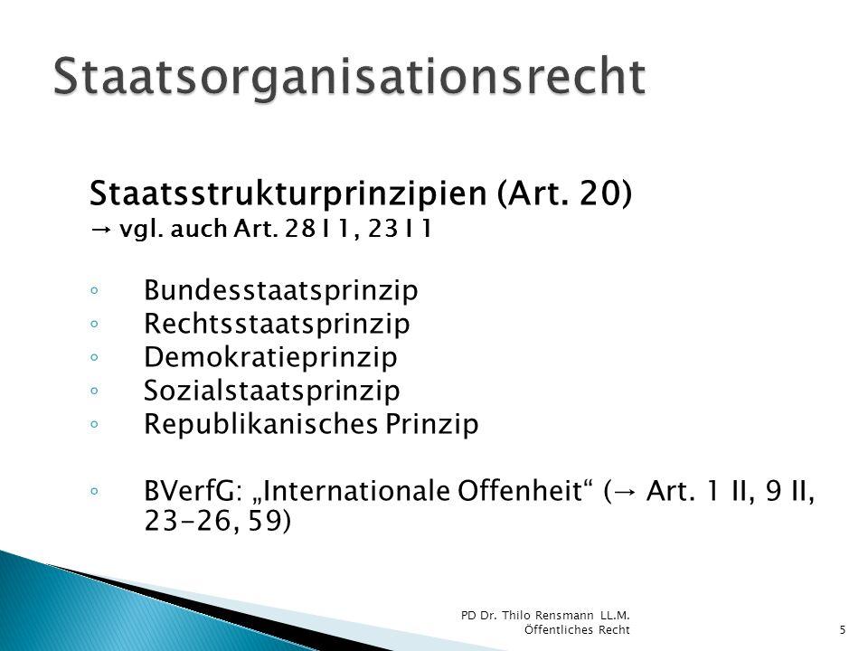 Staatsorganisationsrecht