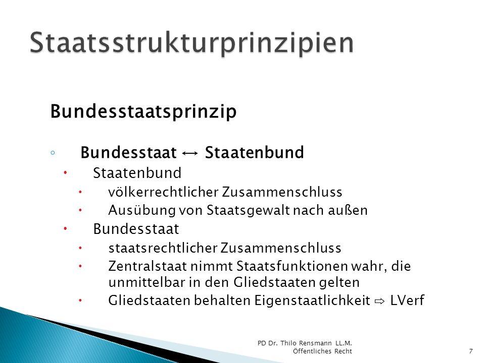 Staatsstrukturprinzipien