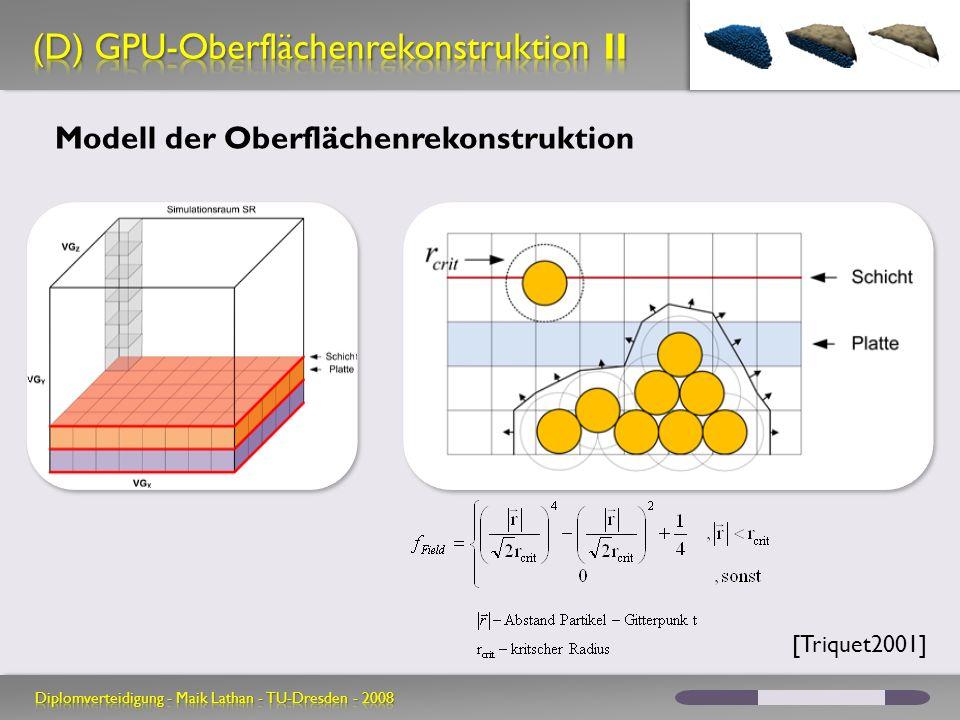 (D) GPU-Oberflächenrekonstruktion II