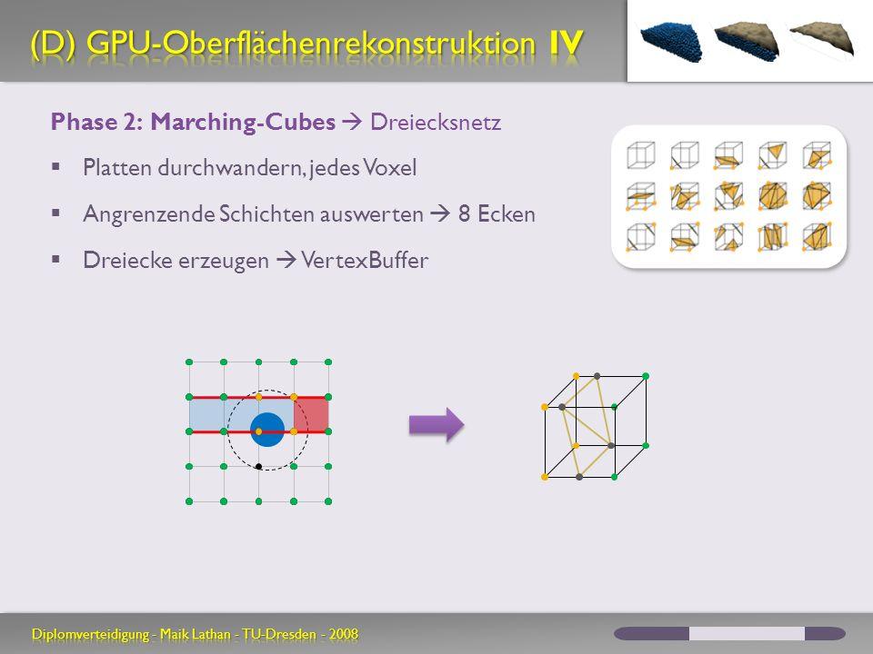 (D) GPU-Oberflächenrekonstruktion IV