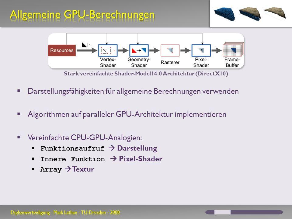 Allgemeine GPU-Berechnungen