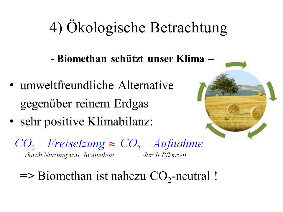4) Ökologische Betrachtung