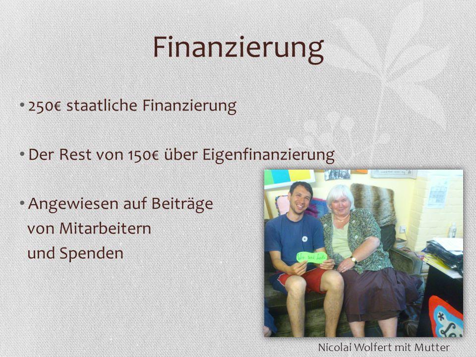 Finanzierung 250€ staatliche Finanzierung