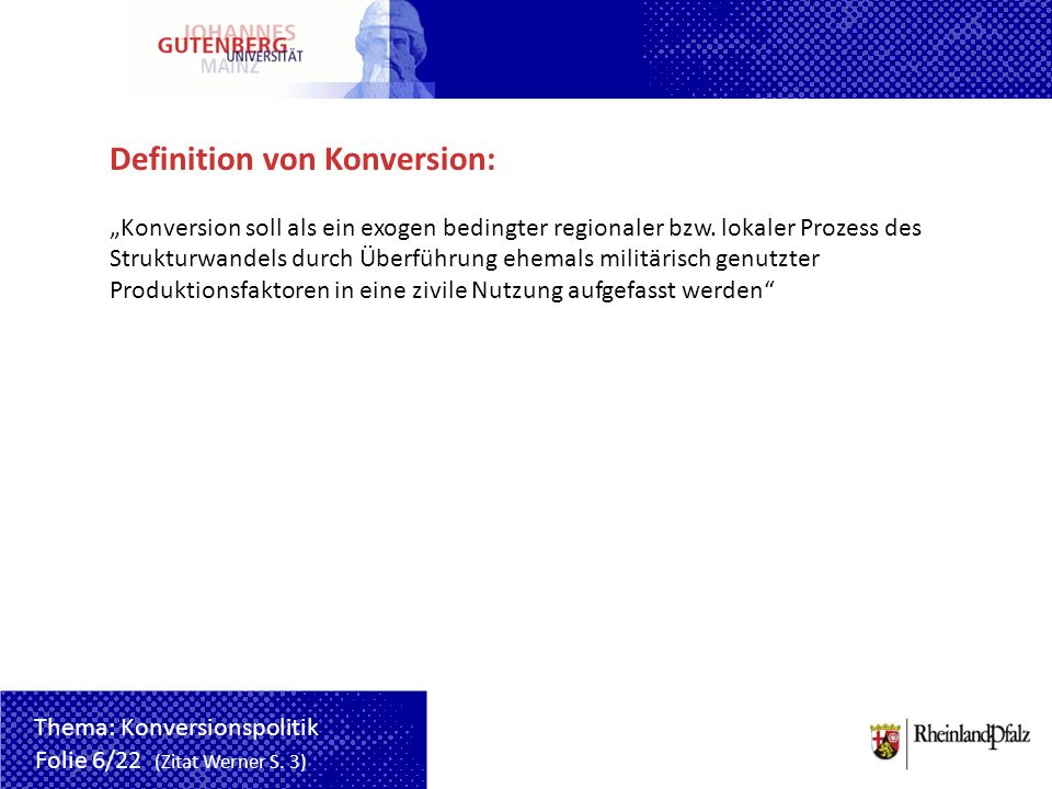 Definition von Konversion:
