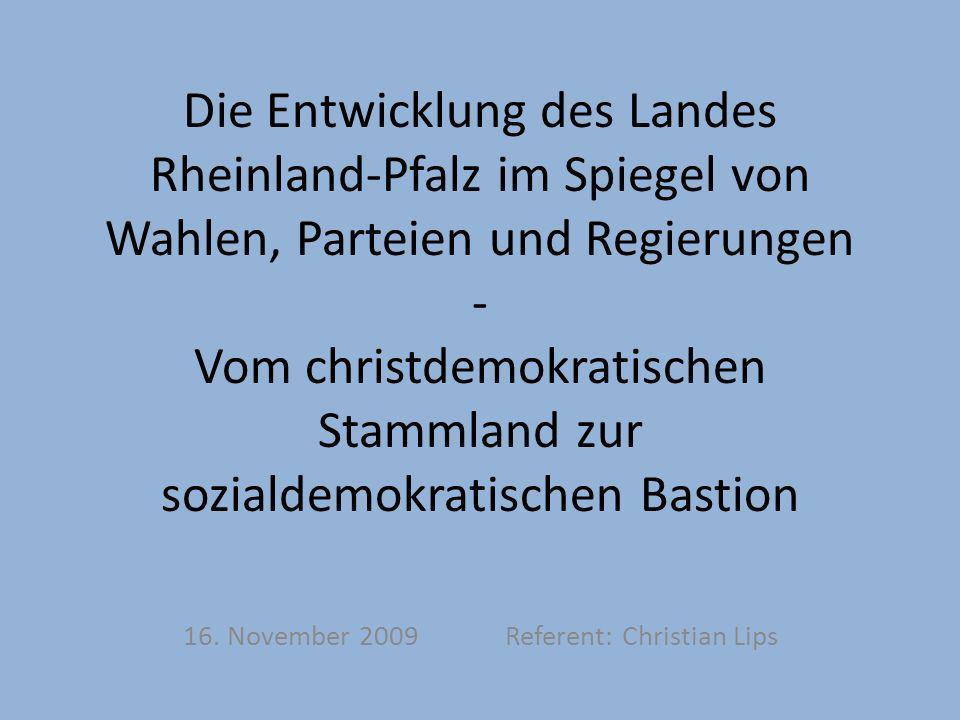 16. November 2009 Referent: Christian Lips