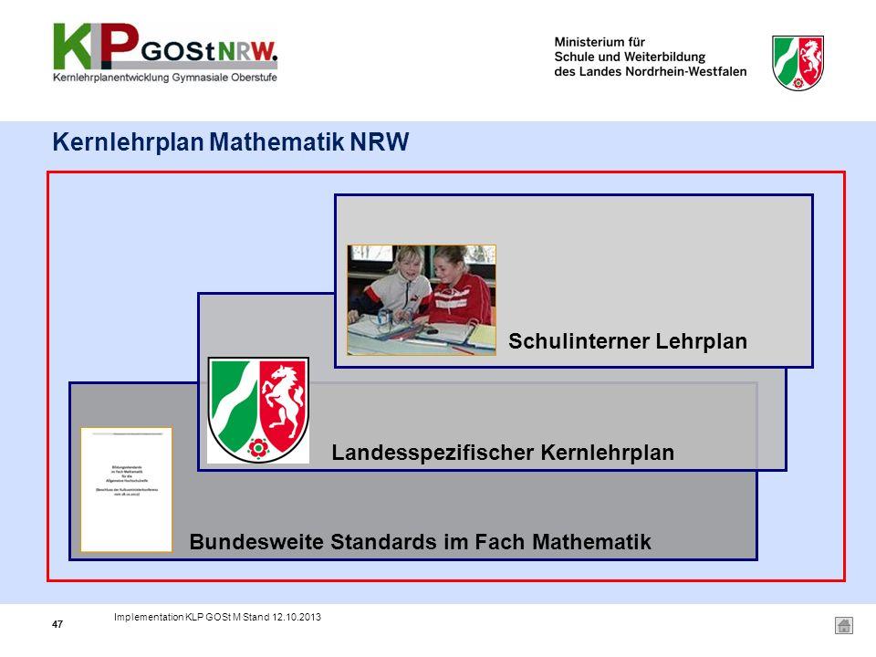 Kernlehrplan Mathematik NRW