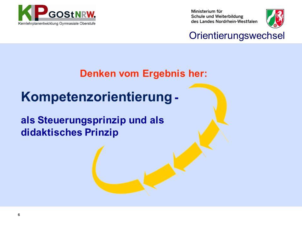Kompetenzorientierung -