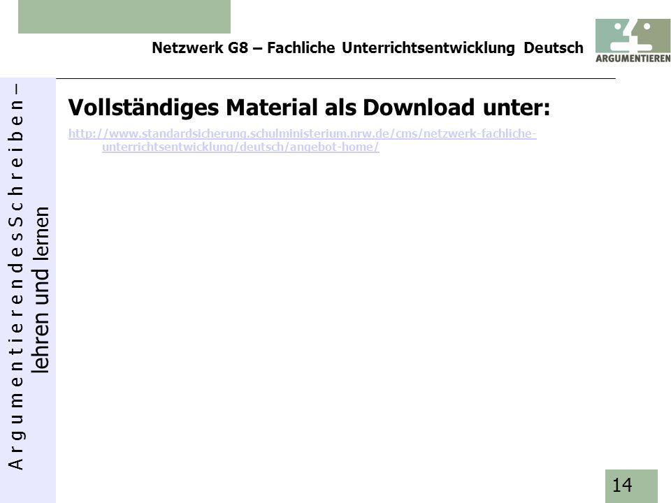 Vollständiges Material als Download unter: