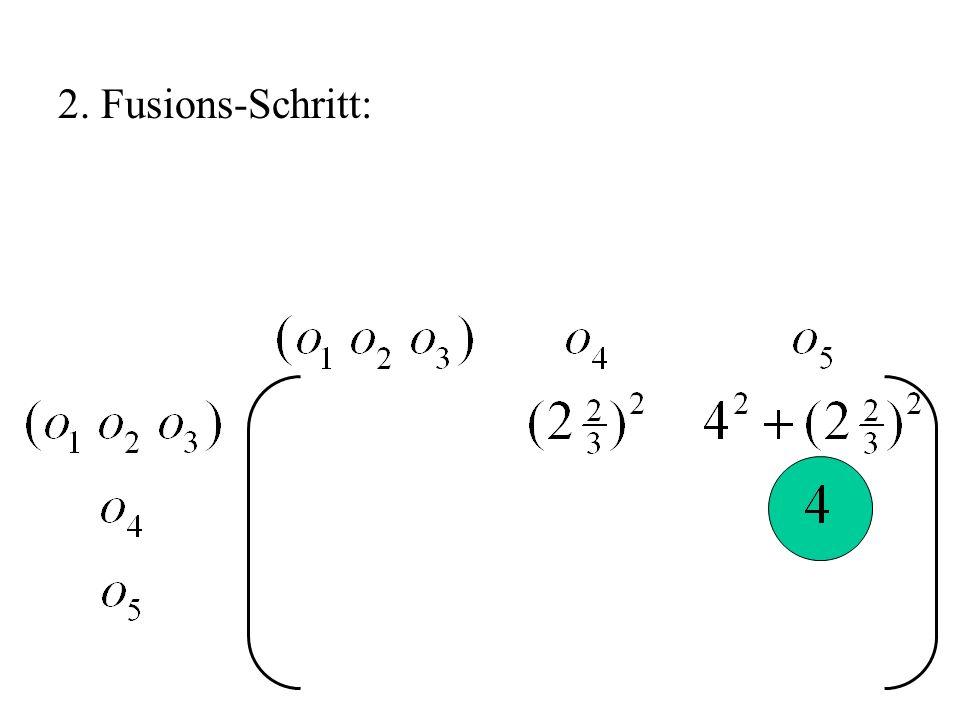 2. Fusions-Schritt: