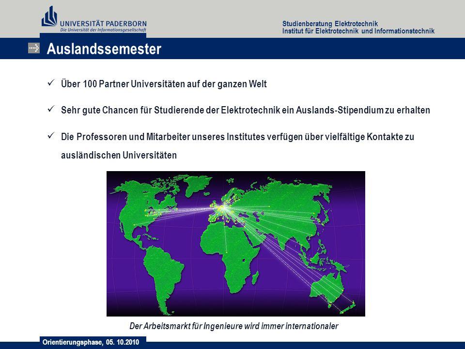 Auslandssemester Über 100 Partner Universitäten auf der ganzen Welt