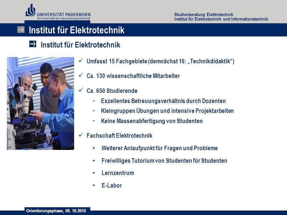 Institut für Elektrotechnik