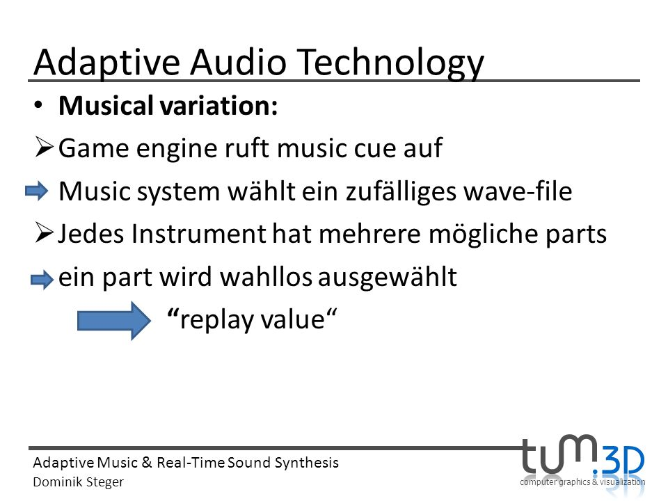 Adaptive Audio Technology