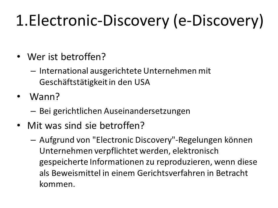 1.Electronic-Discovery (e-Discovery)