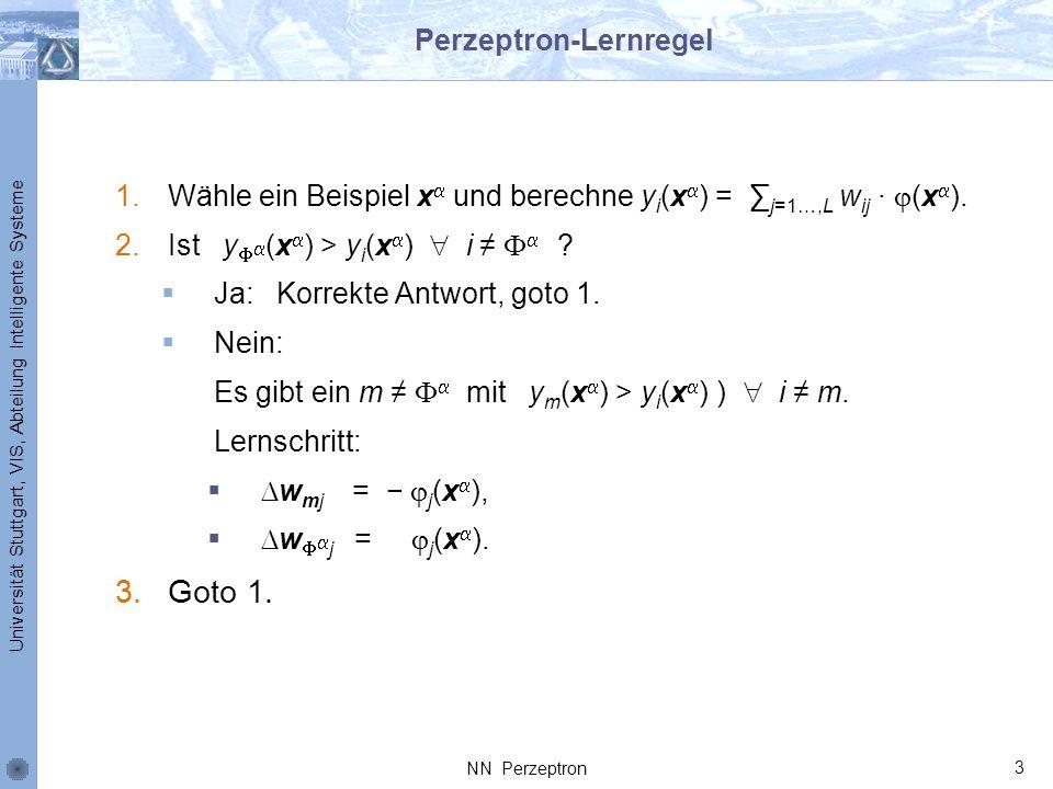 Perzeptron-Lernregel