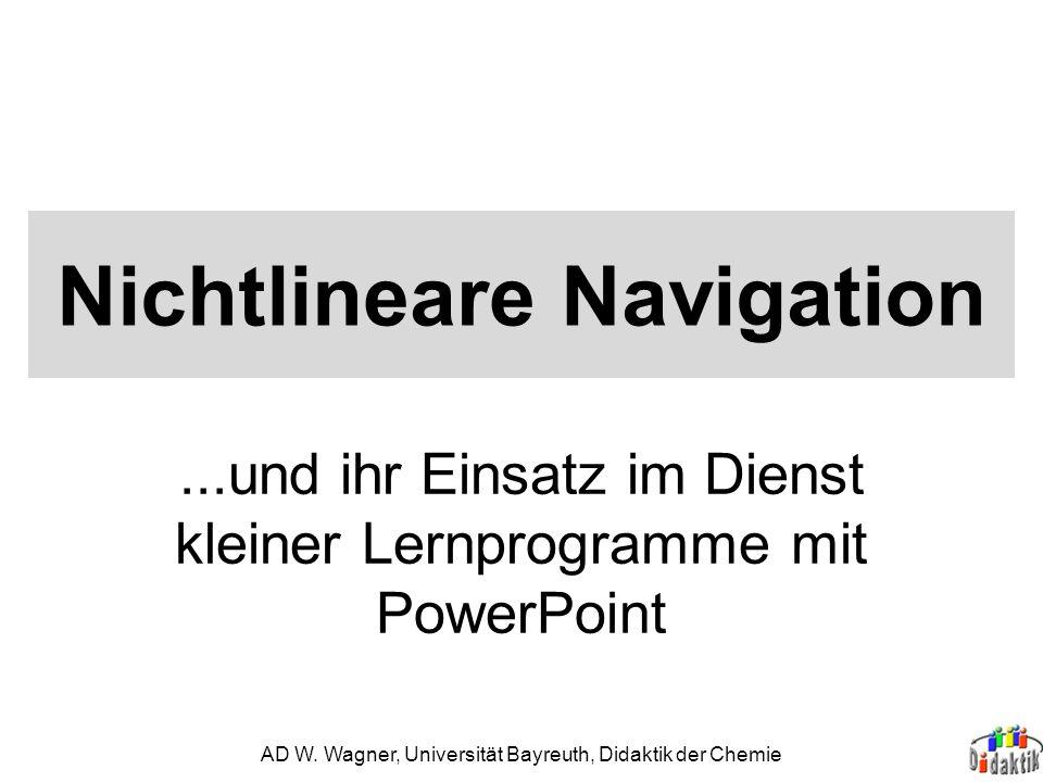Nichtlineare Navigation