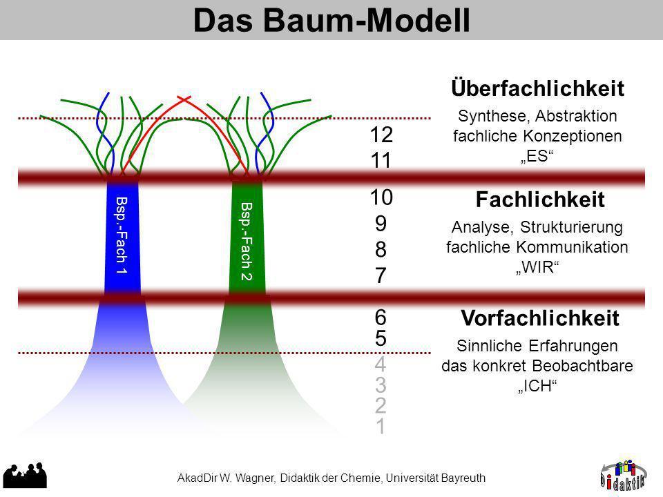 Das Baum-Modell Überfachlichkeit 12 11 10 Fachlichkeit 9 8 7 6