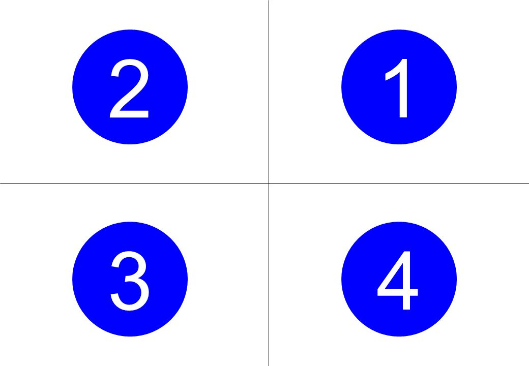2 1 3 4