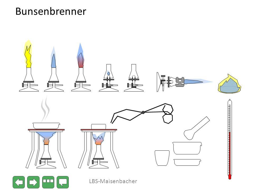 Bunsenbrenner LBS-Maisenbacher