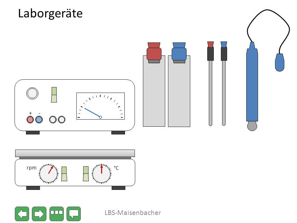 Laborgeräte + - °C rpm LBS-Maisenbacher