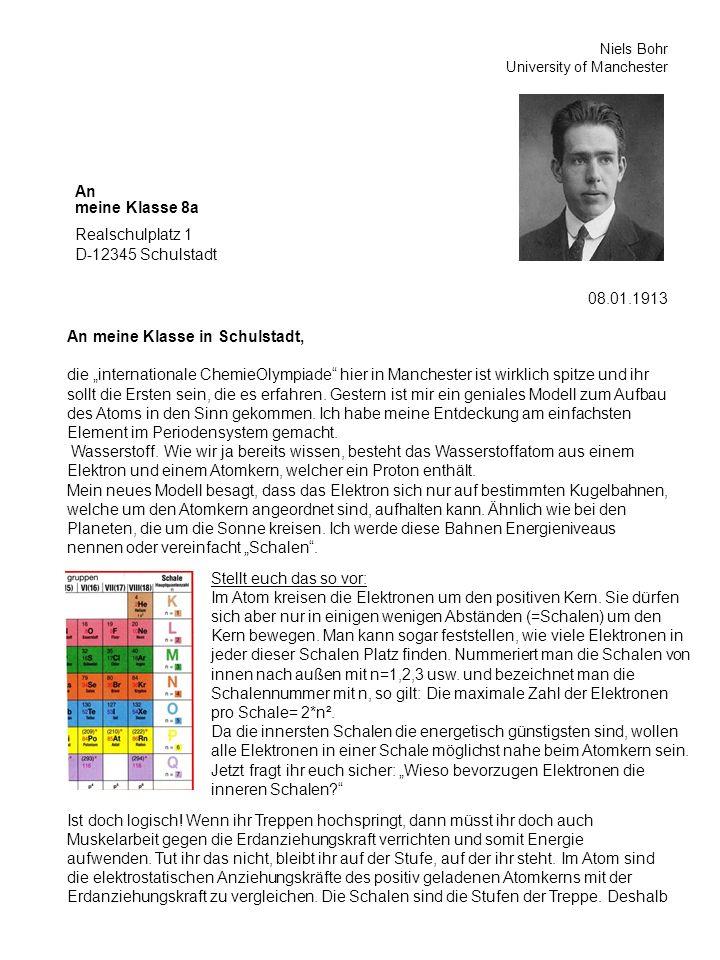 Realschulplatz 1 D-12345 Schulstadt