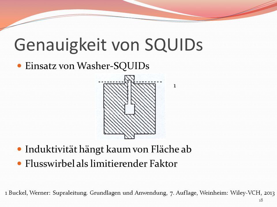 Genauigkeit von SQUIDs