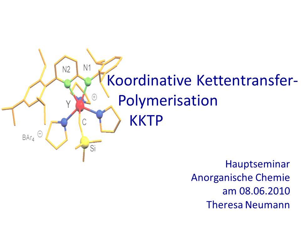 Koordinative Kettentransfer- Polymerisation KKTP