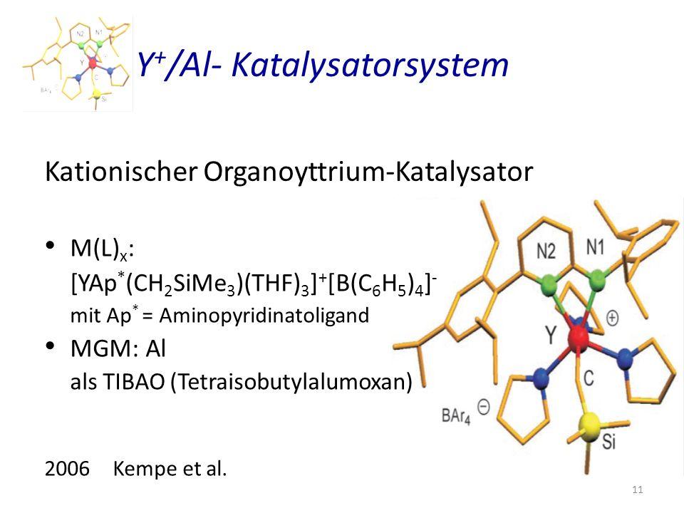 Y+/Al- Katalysatorsystem