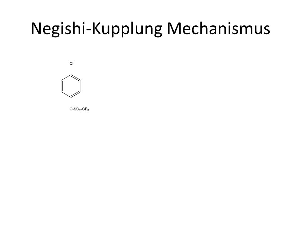 Negishi-Kupplung Mechanismus