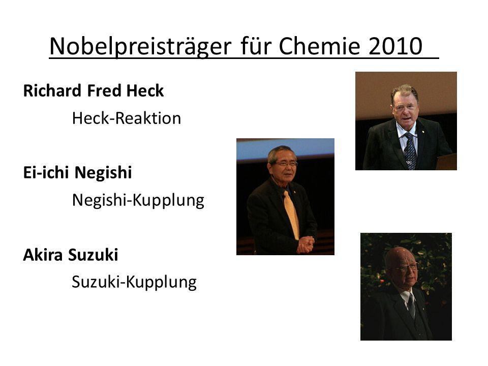 Nobelpreisträger für Chemie 2010