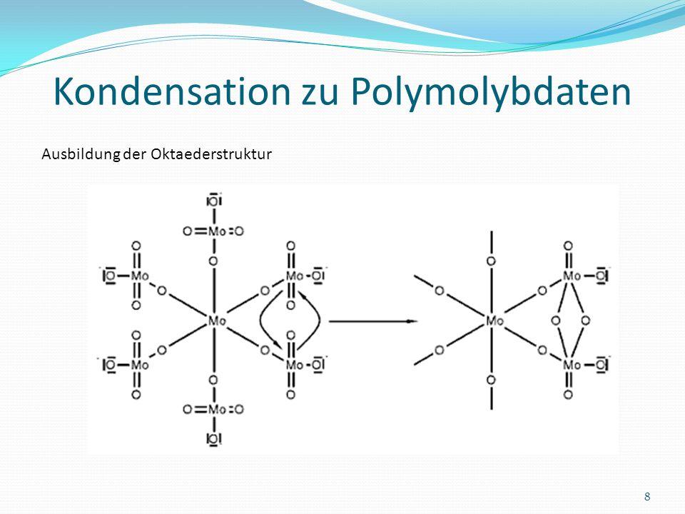 Kondensation zu Polymolybdaten