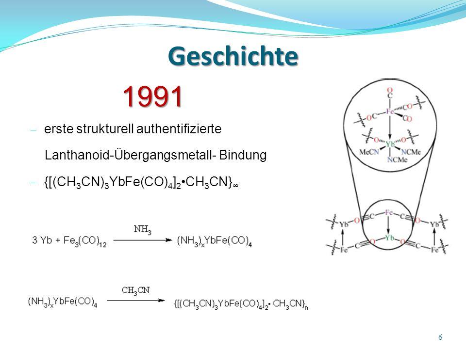 Geschichte 1991 erste strukturell authentifizierte