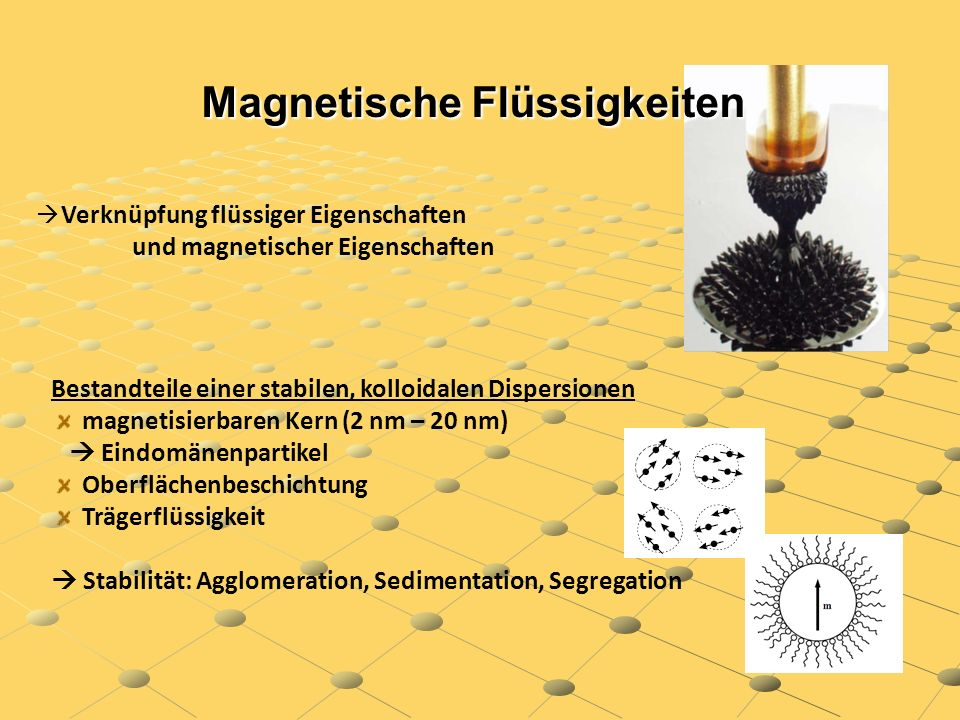 Magnetische Flüssigkeiten