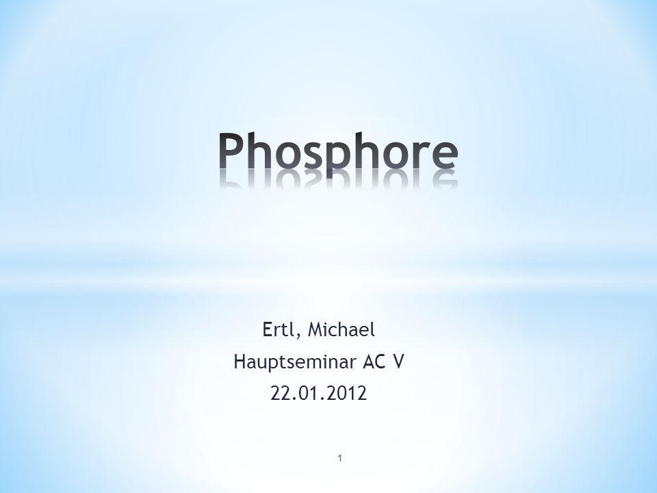 Die Entwicklung des Lichts Ertl, Michael Hauptseminar AC V 22.01.2012