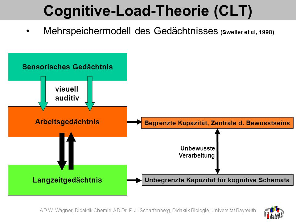Cognitive-Load-Theorie (CLT)